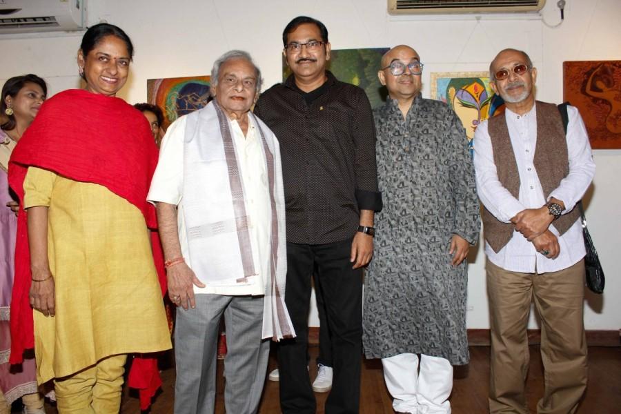 Talluri Rameshwari,Anandji Virji Shah,Sudesh Bhosle,Deepak Qazir,music composer Anandji Virji Shah,singer Sudesh Bhosle