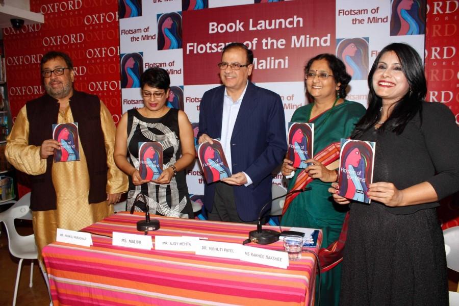 Flotsam,Flotsam book launch,Flotsam book launch pics,Flotsam book launch images,Flotsam book launch photos,Pankaj Parashar,Malini,Ajoy Mehta,Dr. Vibhuti Patel,Rakhee Bakshi