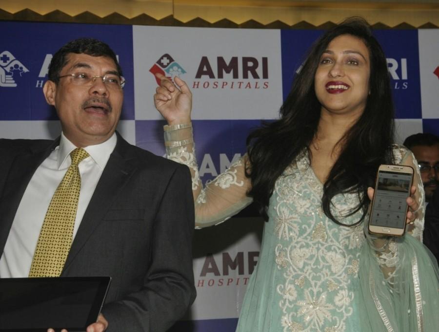 Rituparna Sengupta,AMRI App,Rituparna Sengupta launches AMRI App,AMRI App launch,Actress Rituparna Sengupta