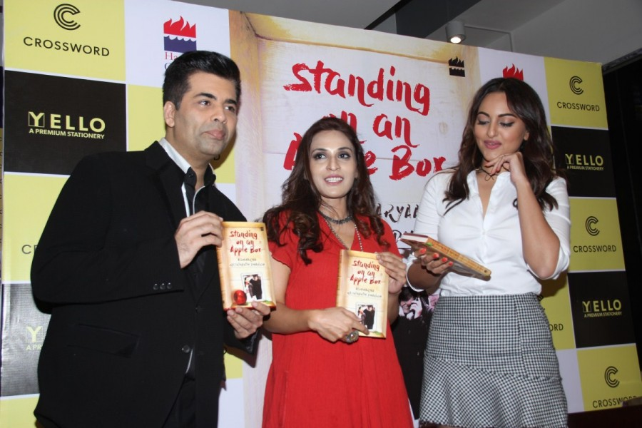 Sonakshi Sinha,Karan Johar,Rajinikanth's daughter Aishwarya,Rajinikanth,Rajinikanth daughter Aishwarya,Aishwarya debut book launch,Aishwarya debut book,Aishwarya debut book launch pics,Aishwarya debut book launch images,Aishwarya debut book launch ph