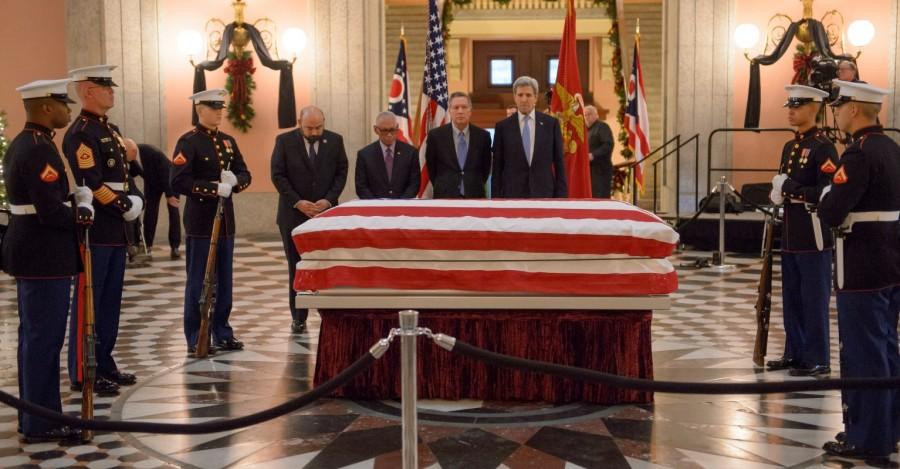 John Glenn,last respect John Glenn,John Glenn in Ohio,U.S. Sen. John Glenn,astronaut John Glenn,Ohio Statehouse