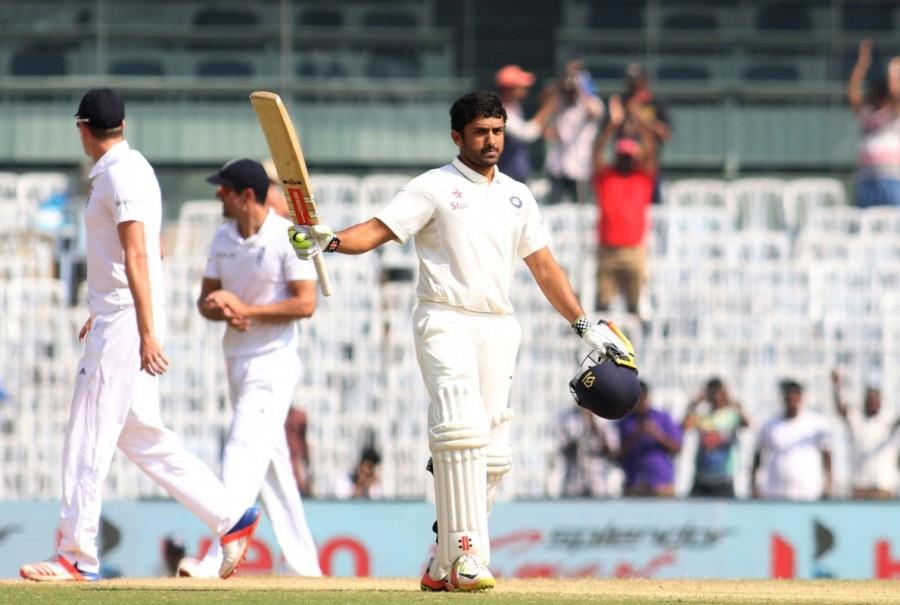 Karun Nair,Karun Nair scores maiden double hundred,Karun Nair maiden double hundred,Karun Nair double hundred,India vs England,India vs England test match
