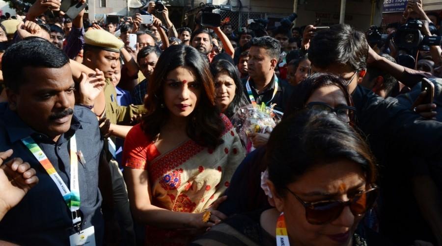 Priyanka Chopra,Priyanka Chopra at Kamakhya Temple,Kamakhya Temple,Kamakhya Temple in Guwahati,actress Priyanka Chopra,Priyanka Chopra latest pics,Priyanka Chopra latest images,Priyanka Chopra latest photos,Priyanka Chopra latest stills,Priyanka Chopra la