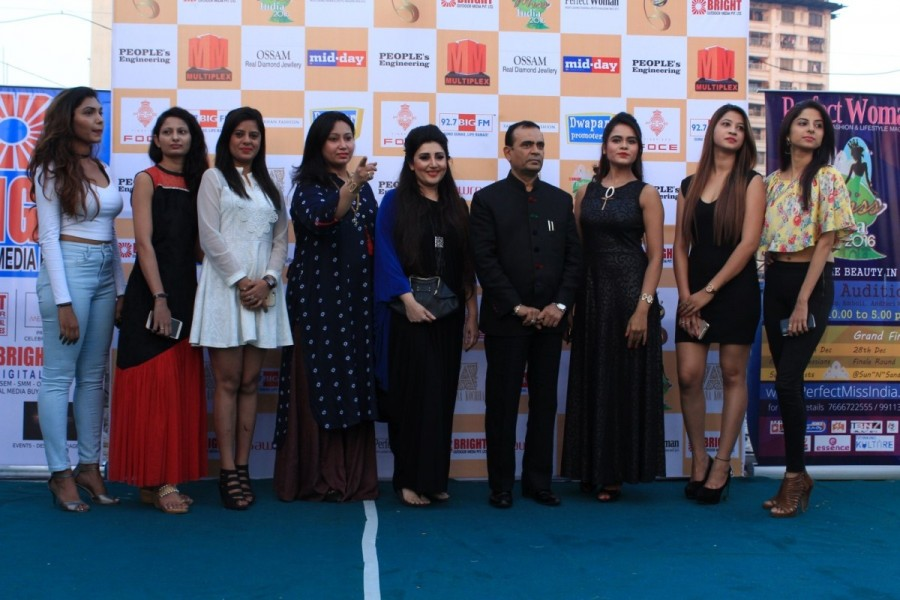 Yogesh Lakhani,CMD,Bright Outdoor Media,fashion designer Archana Kochhar,Bright Perfect Miss,Beauty Pageant,fashion Show