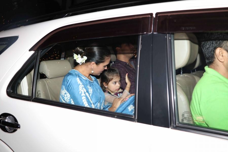 Lara Dutta and Mahesh Bhupathi,Lara Dutta,Mahesh Bhupathi,Lara Dutta and Mahesh Bhupathi with daughter,Lara Dutta with daughter,Mahesh Bhupathi with daughter,Saira Bhupathi
