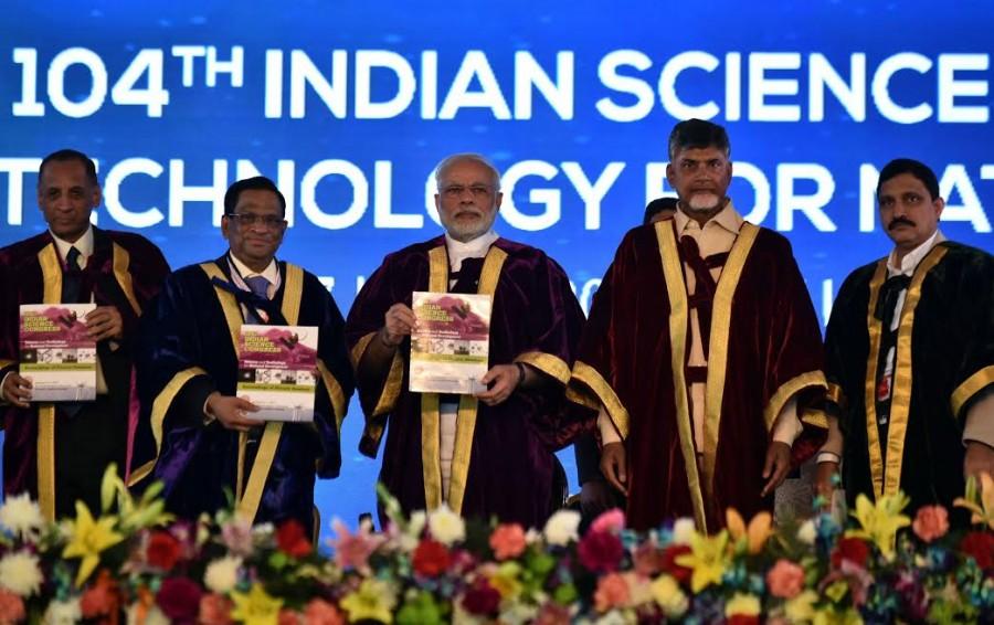 Narendra Modi,PM Narendra Modi,104th session of Indian Science,Indian Science,104th Session of Indian Science Congress,Tirupati