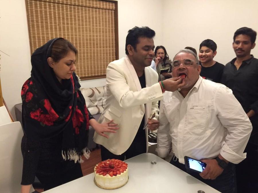A.R. Rahman,AR Rahman,AR Rahman 50th birthday,AR Rahman birthday,AR Rahman birthday celebrations,AR Rahman 50th birthday celebrations,AR Rahman birthday celebrations pics,AR Rahman birthday celebrations images,AR Rahman birthday celebrations stills,AR Rah