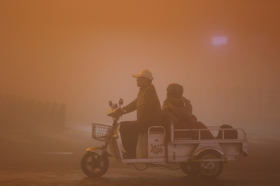 China,China smoggy skies,smoggy skies,soil and water,economic growth