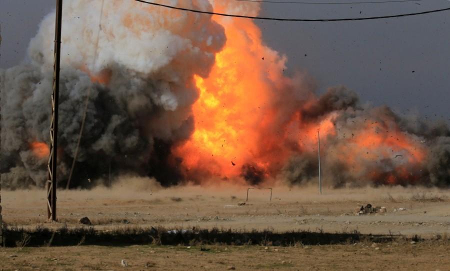 Mosul,War in Mosul,Iraqi forces,State block,eastern Mosul
