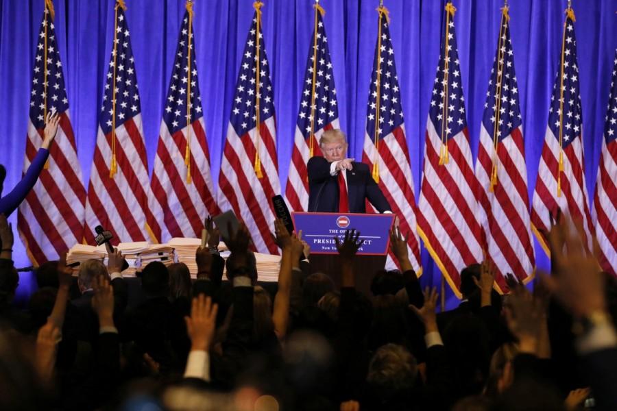 Donald Trump,Donald Trump first news conference,president Donald Trump,President-elect Donald Trump,Manhattan,Trump Tower