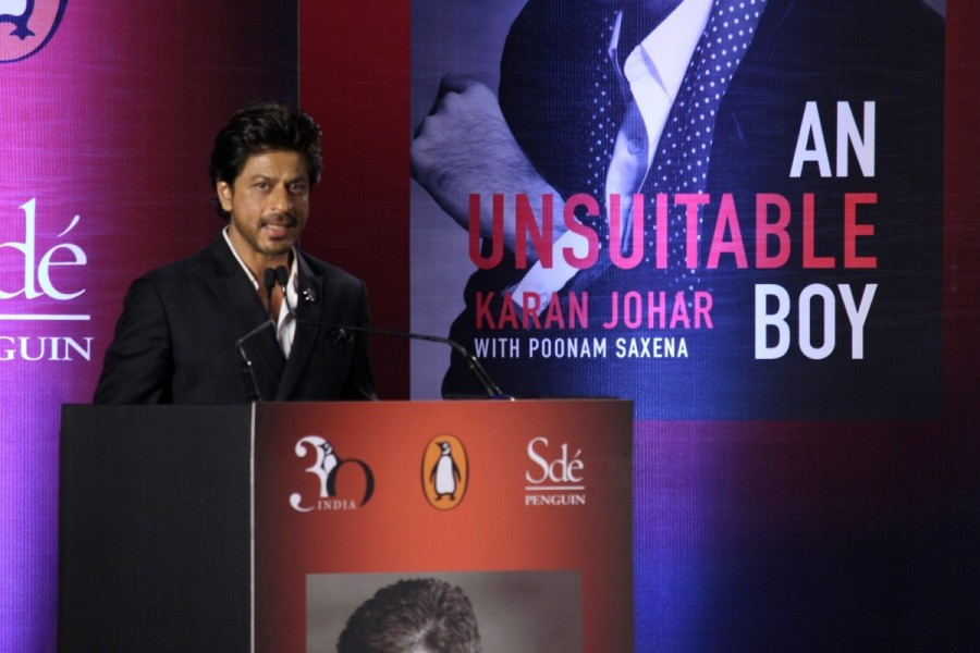 Sharukh Khan,actor Sharukh Khan,Karan Johar,Karan Johar's biography,An Unsuitable Boy,Poonam Saxena,Shah Rukh Khan,actor Shah Rukh Khan,SRK