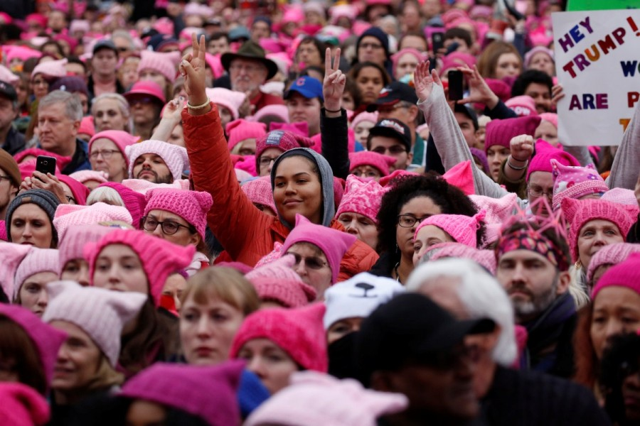Donald Trump,President Donald Trump,Women march on Washington,Women march,United States,protest against Donald Trump