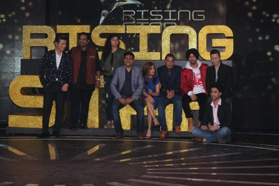 Shankar Mahadevan,Monali Thakur,Colors TV,Rising Star launch,Rising Star,Diljit Dosanjh,Meiyang Chang,Colors TV singing reality show,singing reality show,reality show