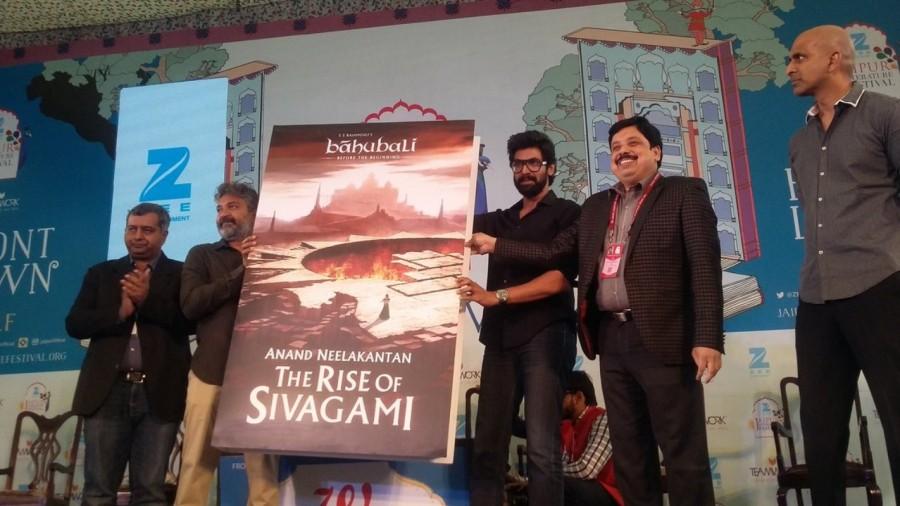 Baahubali,Baahubali team,The Rise of Sivagami,The Rise of Sivagami novel,Jaipur Literature Fest,Baahubali: The Conclusion