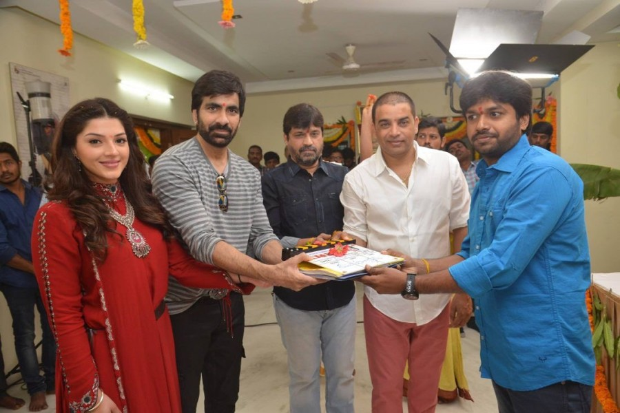 Ravi Teja,Mehreen Pirzada,Raja The Great,Raja The Great movie launch,Raja The Great movie launch pics,Raja The Great movie launch images,Raja The Great movie launch photos,Raja The Great movie launch stills,Raja The Great movie launch pictures