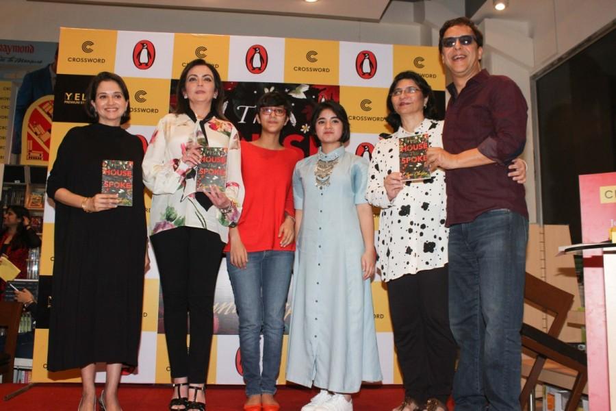 Nita Ambani,Anupama Chopra,Vidhu Vinod Chopra,film journalist Anupama Chopra,The House That Spoke,The House That Spoke book,The House That Spoke book launch