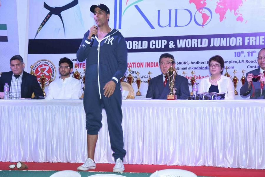Akshay Kumar,actor Akshay Kumar,2nd Kudo World Cup,Kudo World Cup,Kudo World Cup 2017,Akshay Kumar latest pics,Akshay Kumar latest images,Akshay Kumar latest photos,Akshay Kumar latest stills,Akshay Kumar latest pictures