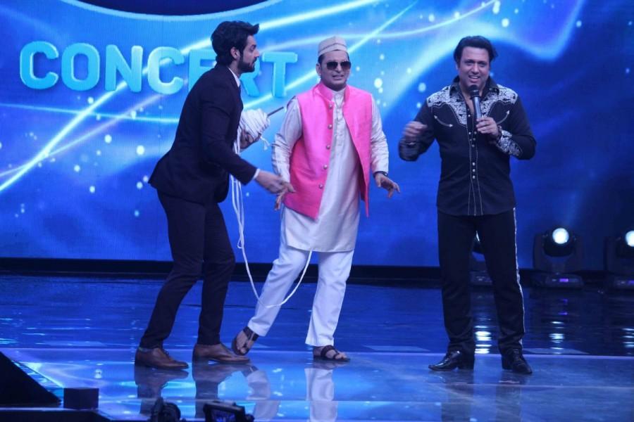Govinda,actor Govinda,Sunita Ahuja,Indian Idol season 9,Indian Idol,Aa Gaya Hero,Aa Gaya Hero promotion,Smita Thackeray,Singer Sonu Nigam,Sonu Nigam