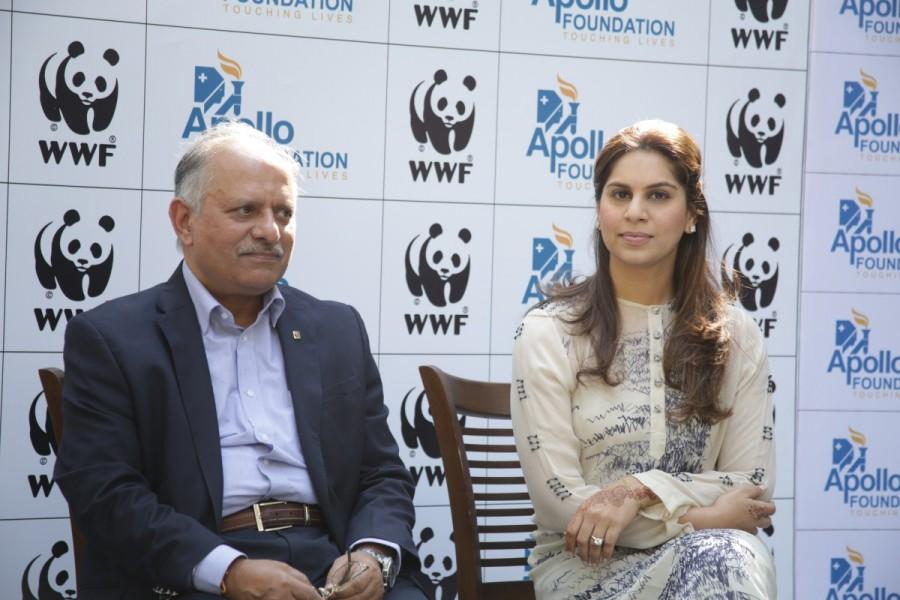 Upasana Kamineni,Apollo Hospital,WWF- India,Apollo Hospital and WWF- India,Apollo Hospitals Foundation