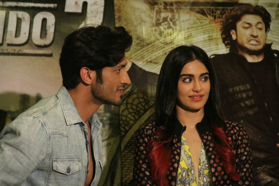 Vidyut Jamwal and Adah Sharma,Vidyut Jamwal,Adah Sharma,Commando 2,Commando 2: The Black Money Trail,Vidyut Jamwal and Adah Sharma pics,Vidyut Jamwal and Adah Sharma images,Vidyut Jamwal and Adah Sharma photos,Vidyut Jamwal and Adah Sharma stills