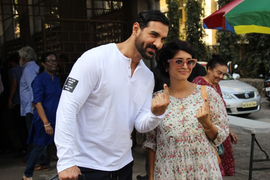 John Abraham,Kiran Rao,BMC Election 2017,BMC Election,Aamir Khan,St Anne's Church