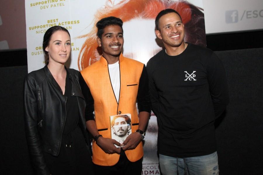 LION,LION Special screening,LION Special screening for Australian Cricket Team,Australian Cricket Team,Garth Davis,Mithcell Starc,Usman Khawaja