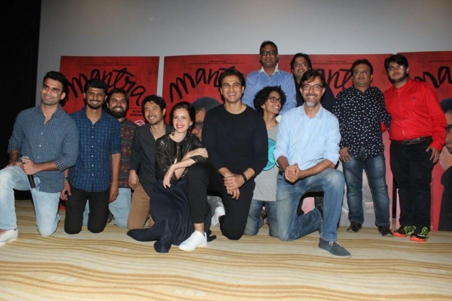 Trailer launch of Mantra,Mantra,Mantra Trailer launch,Kalki Koechlin,Rajat Kapoor