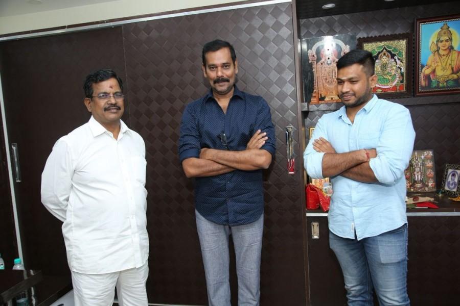 Producer Kalaipuli Thanu,Kalaipuli Thanu,Nataraja Subramani,Payyan SirIvan,Payyan SirIvan title look,Payyan SirIvan title look poster