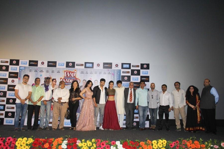 Akshara Haasan,Gurmeet Choudhary,Kavitta Verma,Vivaan Shah,Laali Ki Shaadi Mein Laddoo Deewana,Laali Ki Shaadi Mein Laddoo Deewana Trailer,Laali Ki Shaadi Mein Laddoo Deewana Trailer launch,Laali Ki Shaadi Mein Laddoo Deewana Trailer launch pics,Laali Ki