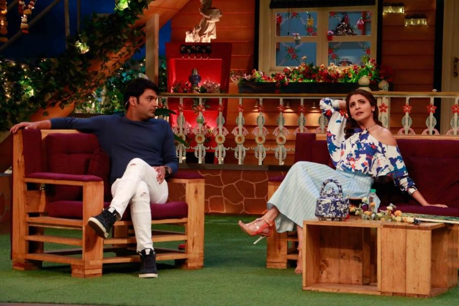 Anushka Sharma,actress Anushka Sharma,Phillauri,Phillauri promotion,Phillauri movie promotion,The Kapil Sharma Show,Anushka Sharma on The Kapil Sharma Show,Anushka Sharma promotes Phillauri