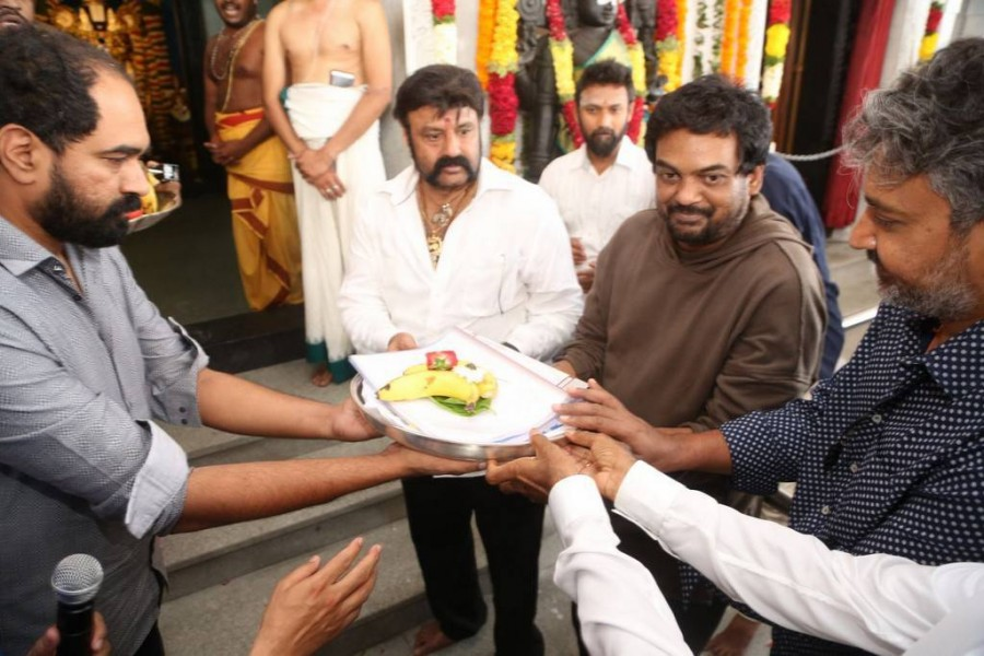 Rajamouli,Boyapati,SS Rajamouli,Balakrishna-Puri movie launch,Balakrishna,Balakrishna-Puri movie launch pics,Balakrishna-Puri movie launch images,Balakrishna-Puri movie launch photos,Balakrishna-Puri movie launch stills,Balakrishna-Puri movie launch pictu