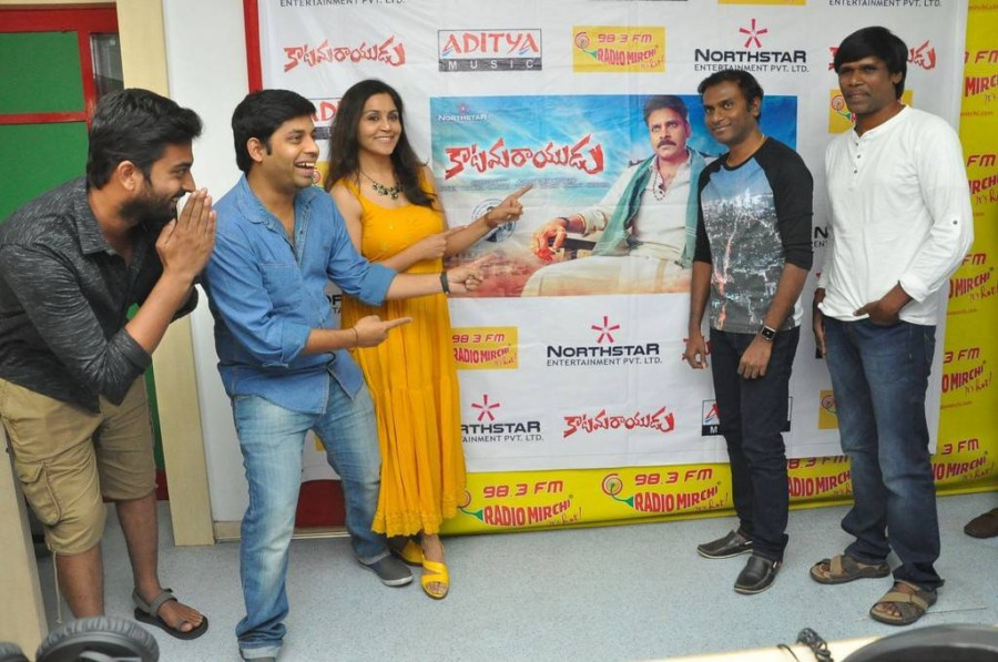 Katamarayudu Song Launch Photos At Radio Mirchi,Katamarayudu Movie Song Launch Pics At Radio Mirchi,Katamarayudu Song Launch,Pawan Kalyan Katamarayudu Movie Song Launch,Anup Rubens,Pawan Kalyan,Katamarayudu song,Katamarayudu song launch,Katamarayudu song