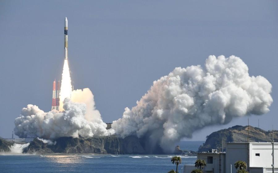 Japan launches satellite,Japan satellite,N. Korea,North Korea,H-2A rocket,H-2A