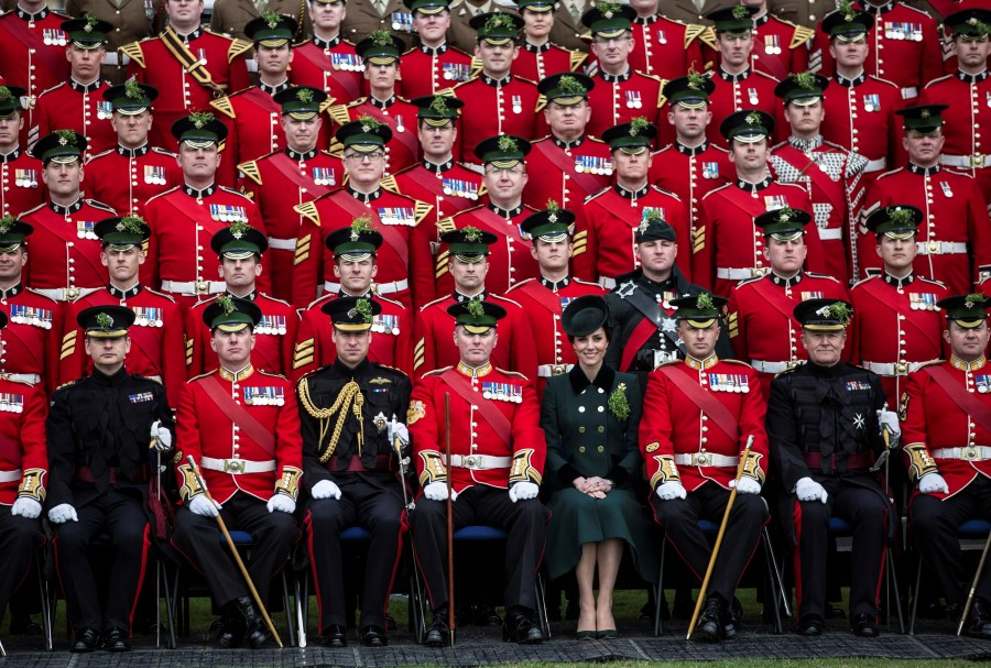 St Patrick's Day,St Patrick's Day  2017,St Patrick's Day photos,irish holiday,St Patrick's Day holiday,people celebrate St Patrick's Day,St Patrick's Day green,photos,Duchess of Cambridge,prince william,Catherine,St Patrick's Day parade