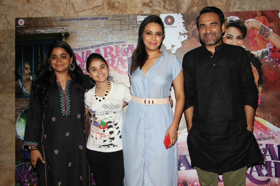 Ashwiny Iyer Tiwari,Pankaj Tripathi,Sahil Salathia,Vicky Kaushal,Deepak Dobriya,Mohammed Zeeshan Ayyub,Anaarkali of Aarah,Anaarkali of Aarah special screening,Anaarkali of Aarah screening