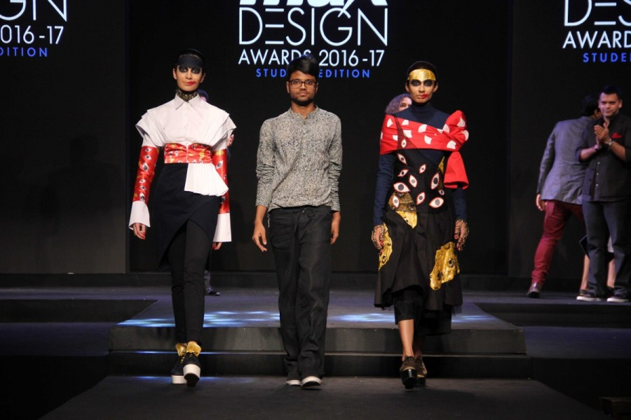 Nachiket Barve,Priyadarshini Rao,Varun Bahl,Vasanth Kumar,Executive Director,Max Fashion India,Fashion designer Kamakshi Kaul,Max Design Awards 2016-17,Max Design Awards