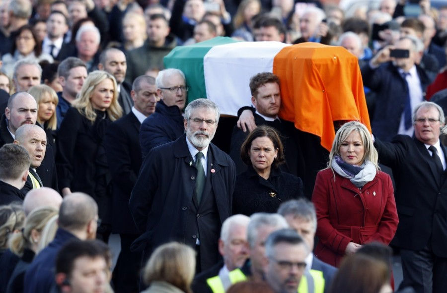 Northern Ireland,Ireland buries Martin McGuinness,Martin McGuinness,Irish Republican Army,Martin McGuinness dies,Martin McGuinness tributes,Martin McGuinness dead