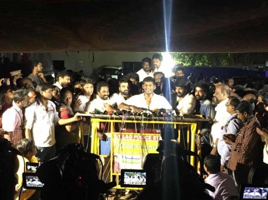 ?Producers council,Vishal,actor Vishal,?Producers council election