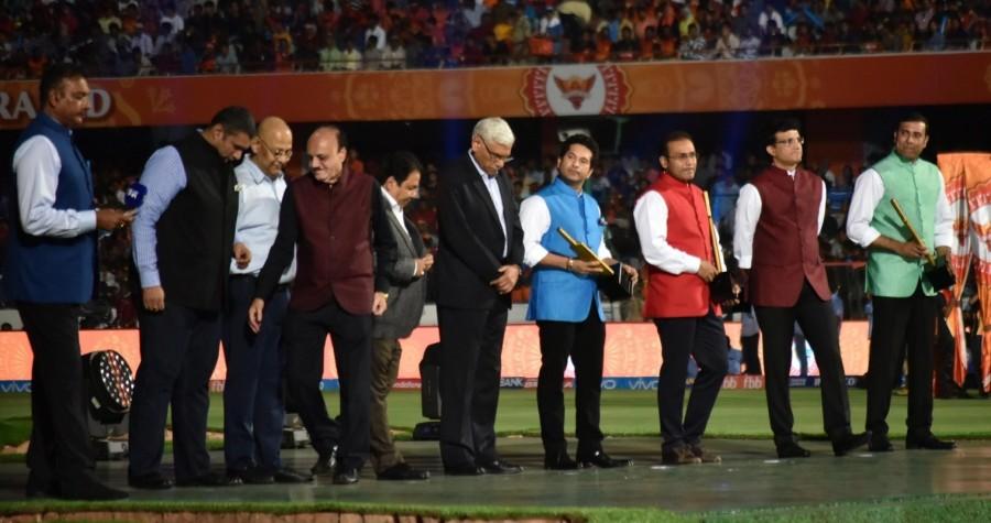 Sourav Ganguly,Sachin Tendulkar,V. V. S. Laxman,Virender Sehwag,IPL 2017 Opening Ceremony,IPL Opening Ceremony,IPL 2017 Opening Ceremony pics,IPL 2017 Opening Ceremony images,IPL 2017 Opening Ceremony stills,IPL 2017 Opening Ceremony pictures,IPL 2017 Ope