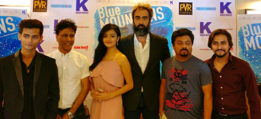 Ranvir Shorey,Gracy Singh,Suman Ganguli,Raujesh Jain,Yatharth Ratnum,Blue Mountains movie promotion,Blue Mountains promotion,Blue Mountains movie promotion pics,Blue Mountains movie promotion images,Blue Mountains movie promotion stills,Blue Mountains mov