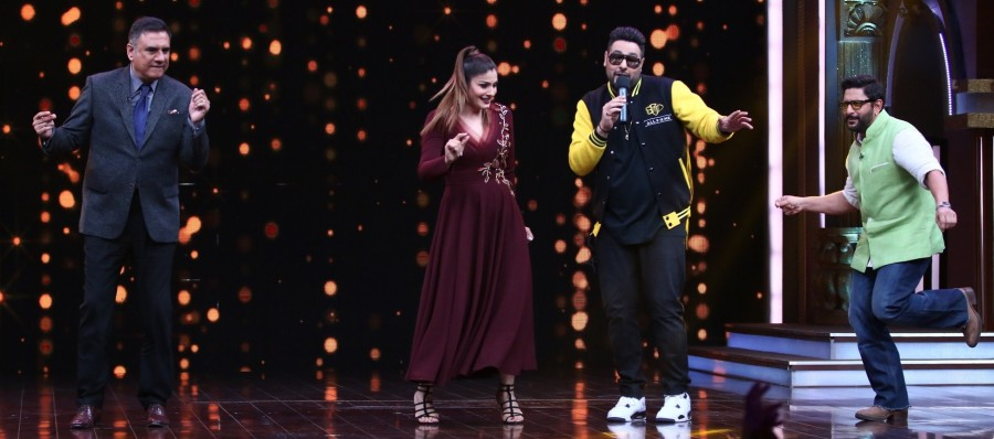 Sabse Bada Kalakar,Rapper Badshah,Raveena Tandon,Sony Entertainment,kids acting reality show,kids reality show,reality show,Raveena Tandon on the sets of Sabse Bada Kalakar