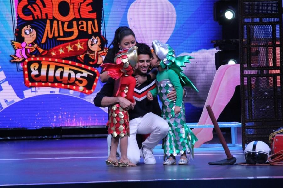 Sidharth Malhotra,actor Sidharth Malhotra,Chhote Miyan Dhaakad contestants,Chhote Miyan Dhaakad,Chhote MIyan Dhaakad
