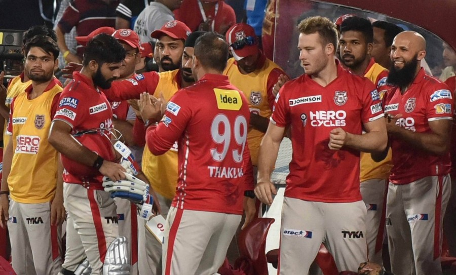 David Warner,Bhuvneshwar Kumar,Sunrisers Hyderabad,Kings XI Punjab,Hyderabad pip Punjab by 5 runs,Indian Premier League,Indian Premier League 2017,IPL,IPL 2017