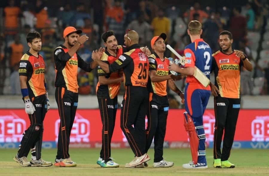 Sunrisers Hyderabad,Delhi Daredevils,Hyderabad beat Delhi,Rajiv Gandhi International Stadium,Indian Premier League,Indian Premier League  2017,IPL,IPL 2017,Mohammed Siraj,Sanju Samson,Karun Nair,Rishabh Pant