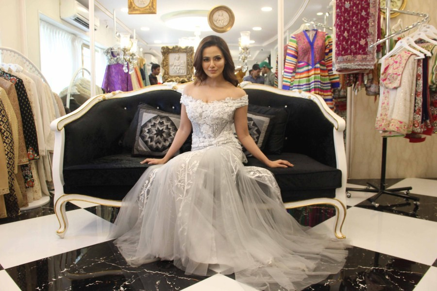 Sana Khan,actress Sana Khan,Dimple and Amrin Summer collection,Dimple and Amrin Summer collection launch,Sana Khan pics,Sana Khan images,Sana Khan stills,Sana Khan pictures,Sana Khan photos