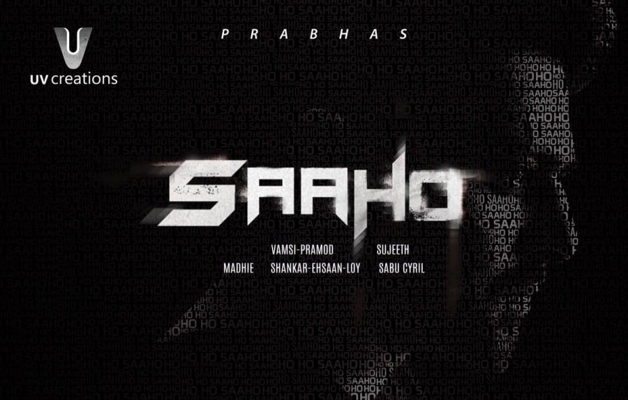 Saaho,Saaho first look poster,Saaho first look,Saaho poster,Saaho movie poster,Prabhas,Baahubali 2