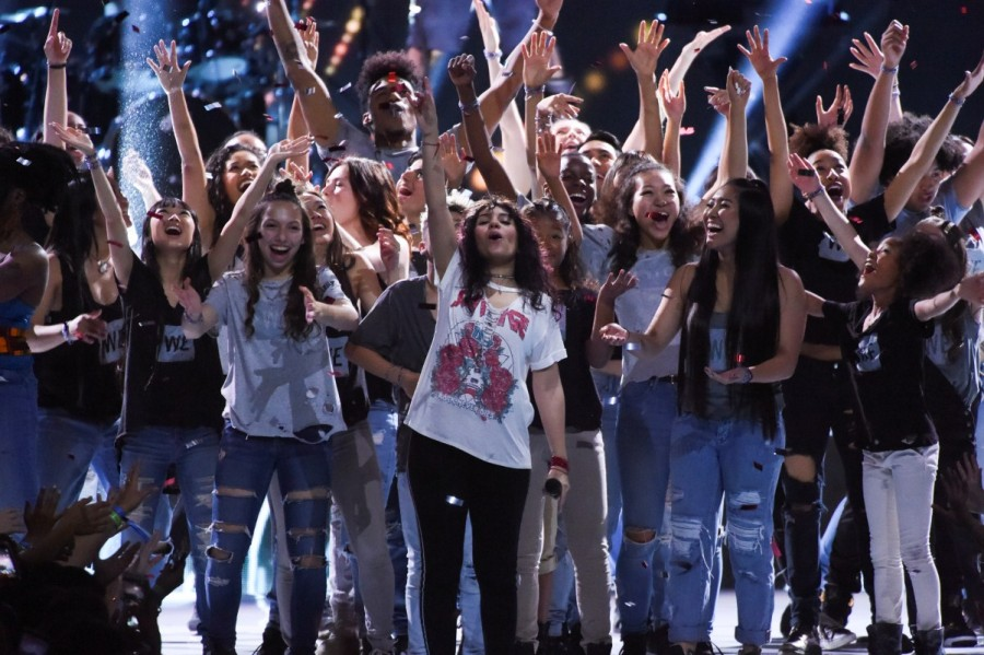 WE Day,WE Day in Los Angeles,Celebrities celebrate WE Day,Alicia Keys,Selena Gomez,Alessia Cara