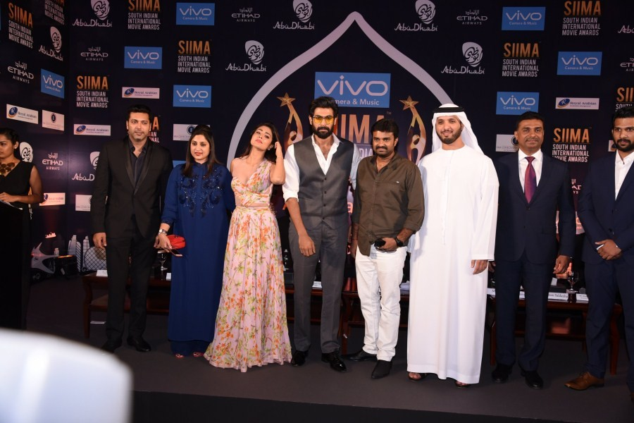 Rana Daggubati and Shriya Saran,Rana Daggubati,Shriya Saran,SIIMA press meet,SIIMA,SIIMA press meet pics,SIIMA press meet images,SIIMA press meet stills,SIIMA press meet pictures,SIIMA press meet photos