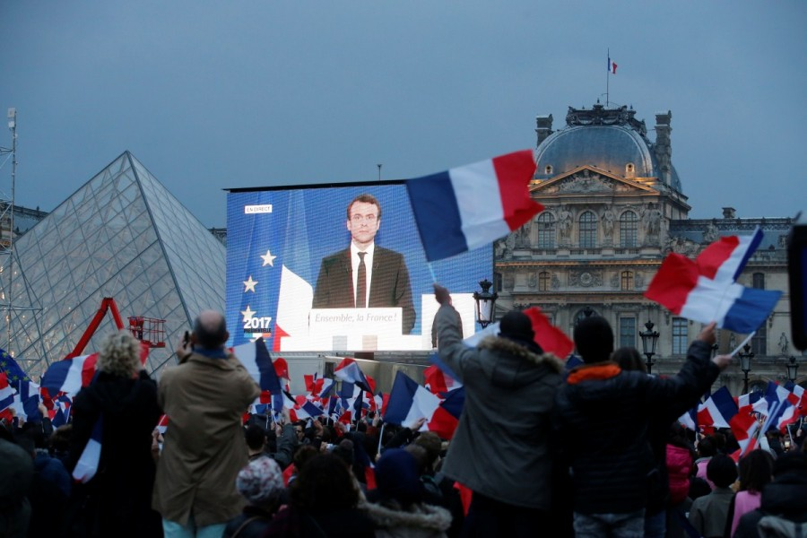 French election,Emmanuel Macron,Emmanuel Macron wins French election,Marine Le Pen,European Union