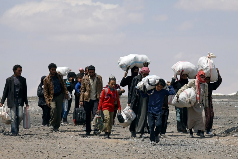 Raqqa assault,Residents flee Islamic State,Islamic State,Raqqa,Syrian Democratic Forces